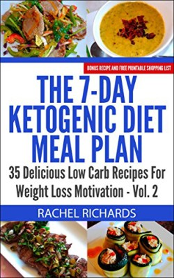 The 7-Day Ketogenic Diet Meal Plan: 35 Delicious Low Carb Recipes For Weight Loss Motivation – Volume 2