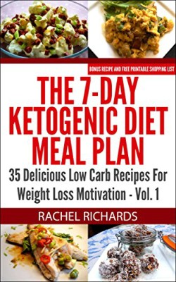 The 7-Day Ketogenic Diet Meal Plan: 35 Delicious Low Carb Recipes For Weight Loss Motivation – Volume 1